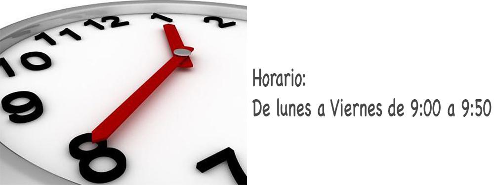 HORARIO_SECRETARIA